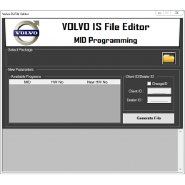 Volvo IS File Editor 1.00 +...